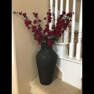 Z Gallerie Vase and Floral Stems